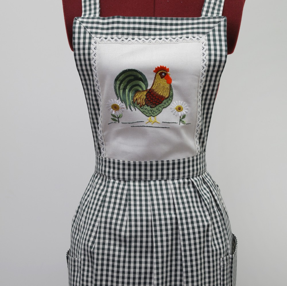 Кухонный фартук вышивка
